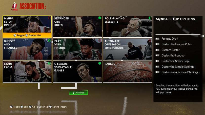 Next-gen versie van NBA 2K21 krijgt MyNBA mode
