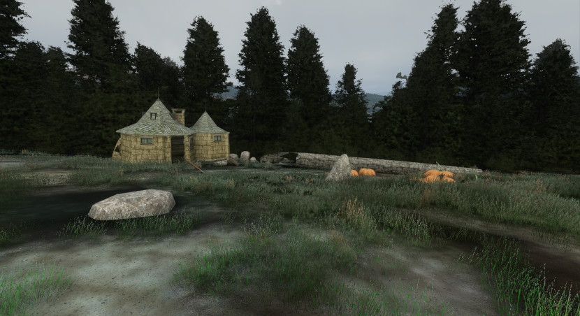 Hogwarts neergeplant in Microsoft Flight Simulator