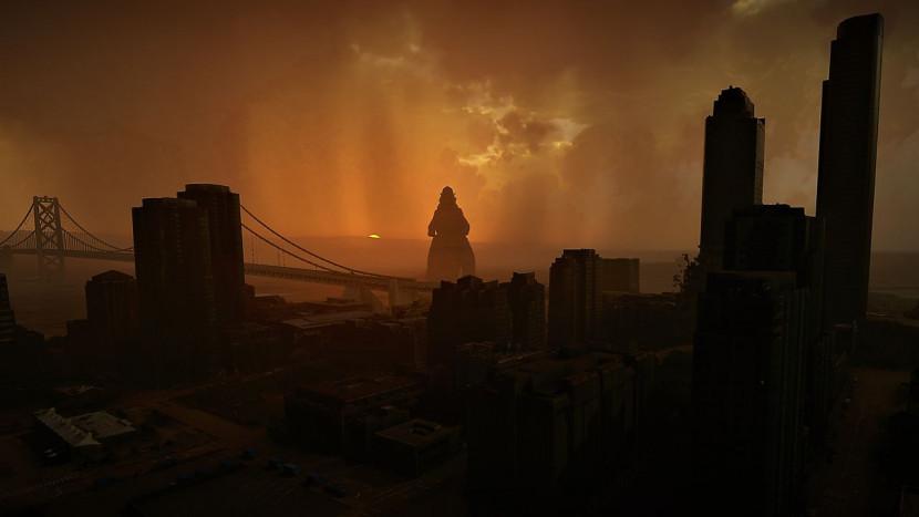 Godzilla brengt bezoekje aan Microsoft Flight Simulator
