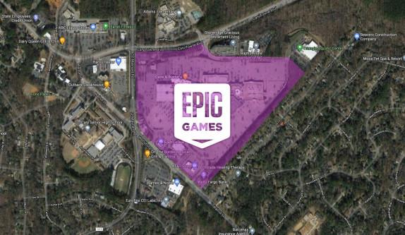 Epic Games koopt reusachtig winkelcentrum om er nieuw hoofdkwartier van te maken