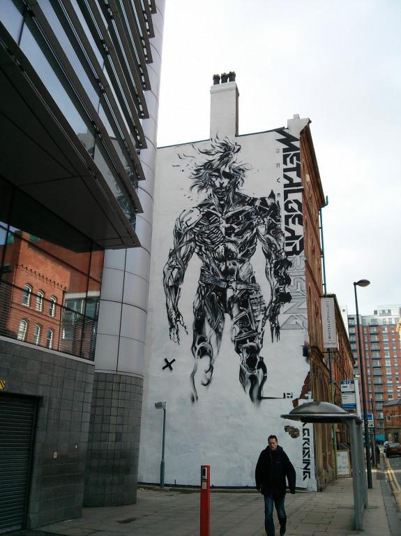 Grote Metal Gear Rising reclame na 7 jaar weggehaald