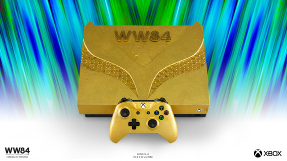 Microsoft onthult speciale Xbox consoles ter ere van Wonder Woman