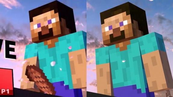 Suggestief geplaatst lapje vlees van Steve verwijderd uit Super Smash Bros. Ultimate