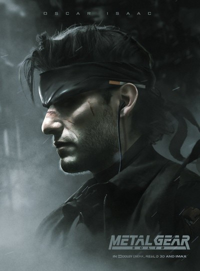 Star Wars acteur speelt Solid Snake in Metal Gear film