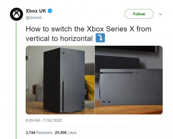 Xbox verwijdert tweet die lacht met PS5 stand