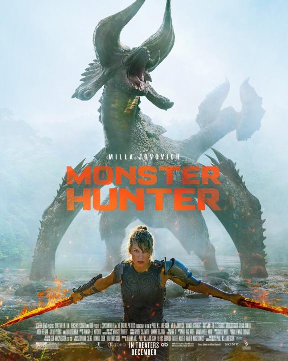 Fans zien grote fout in poster van Monster Hunter film