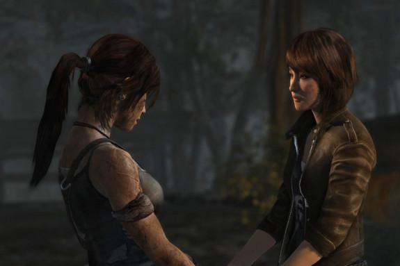 Lara Croft had bijna een lesbische relatie met haar boezemvriendin