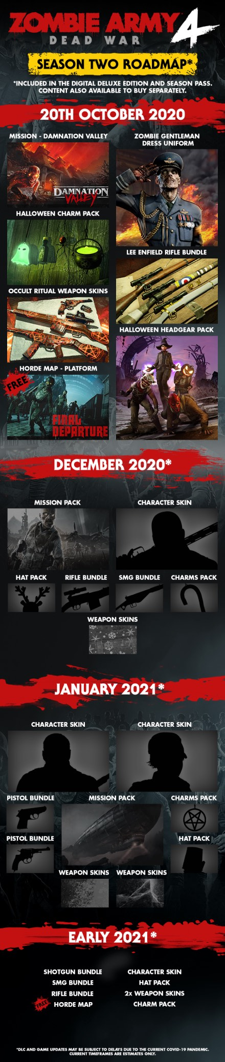 Zombie Army 4 begint aan avontuur in Damnation Valley