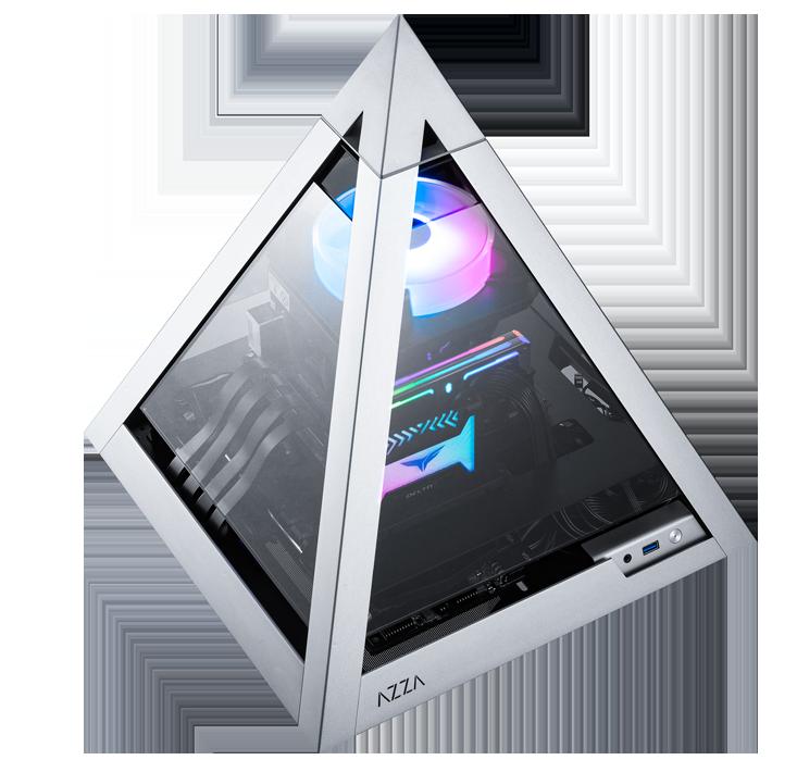 Het is eens iets anders, deze Pyramid Mini 806 pc case