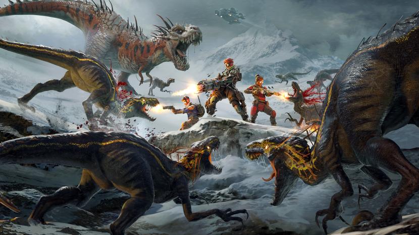 Dino's keren terug in next-gen game Second Extinction