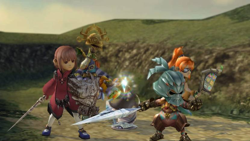 Final Fantasy Crystal Chronicles Remastered Edition screenshot Mobiel PS4 Switch